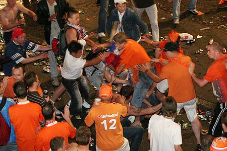 schlägerei euro 2008 niederlande russland