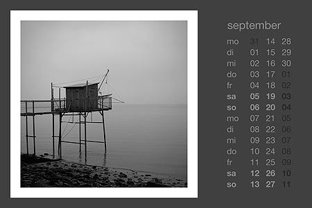 kalenderblatt september